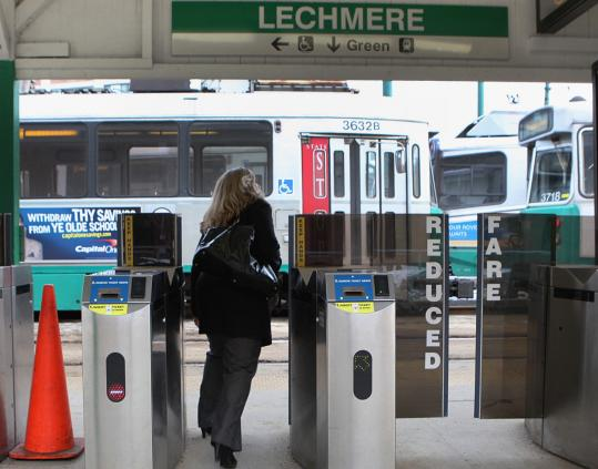 The MBTA plans to extend the Green Line beyond its current terminus at the Lechmere stop into Somerville.