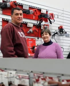 Marathon Tools owners Bill and Donna Olson could use another worker now that business is picking up, but fear they can&#8217;t afford the extra help.