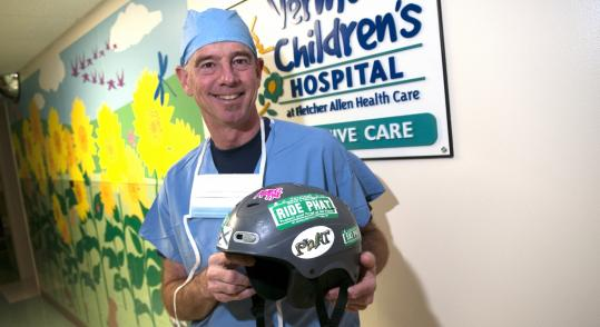 Dr. Robert Williams founded PHAT in 2002, a helmet advocacy program that&#8217;s now in place at 11 participating Vermont ski areas.