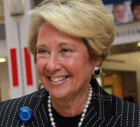 Chief executive Ellen Zane took over the helm of Tufts Medical Center in 2004.