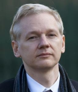 Julian Assange, the founder of WikiLeaks.