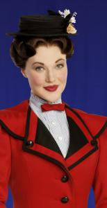 Steffanie Leigh as Mary Poppins.