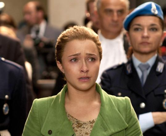 Hayden Panettiere portrays the real-life Amanda Knox, whose case is in the appeals process.
