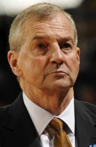 UConn coach Jim Calhoun will serve his three-game suspension next season.