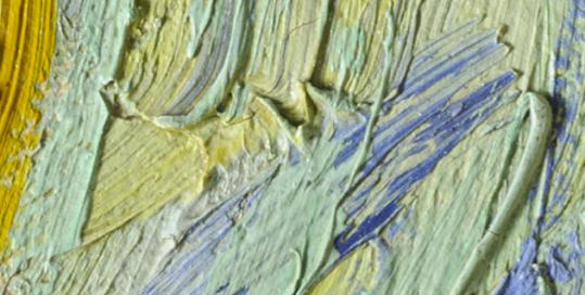 "The Google Art Project allows viewers to get microscopically close to major works such as Van Gogh's ""Starry Night."""