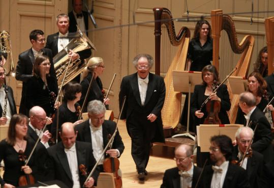 After a seven-month absence, James Levine returned to the podium at Symphony Hall last October.