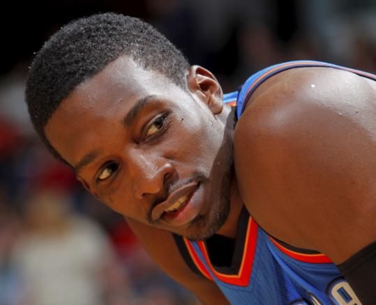"""I'm going to do the best I can to help this team out and win a championship,'' says Jeff Green."