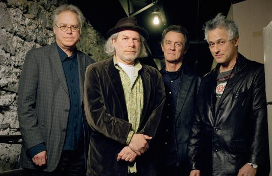 From left: Bill Frisell, Buddy Miller, Greg Leisz, and Marc Ribot collaborated on ''Buddy Miller's The Majestic Silver Strings.''