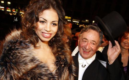 RONALD ZAK/ASSOCIATED PRESS Ruby, a.k.a. Karima el-Mahroug, arrives at the Vienna Opera Ball with her host, Austrian businessman Richard Lugner.