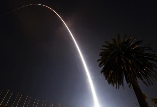 NASA said a rocket component did not separate from the satellite, leaving the spacecraft without the velocity to reach orbit.