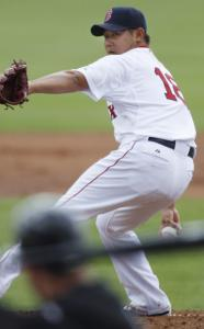 Daisuke Matsuzaka was one of three pitchers who struggled in an 11-2 loss to Florida.