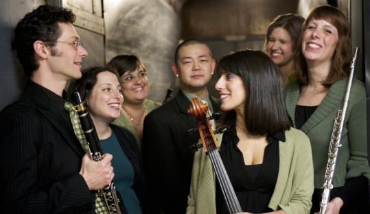 The Radius Ensemble's program Sunday explored the tension between musical energy and programmatic meaning.