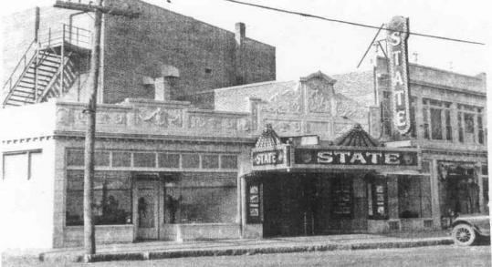 The State Theater as it looked in 1928. Later renamed Stoughton Cinema Pub, the theater closed in December 2007.