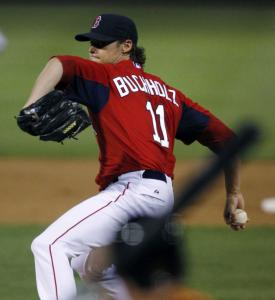 The confidence is apparent in Red Sox righthander Clay Buchholz, who hasn't allowed a run in nine innings this spring.