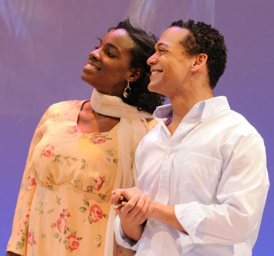 "Rachel Christopher and Joe Wilson Jr. star in Dael Orlandersmith's ""Yellowman.''"