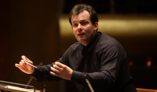 Andris Nelsons, music director of the City of Birmingham Symphony Orchestra, will lead the Boston Symphony Orchestra for the first time later this week at Carnegie Hall.