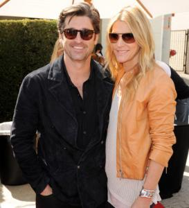 MADE IN THE SHADES Maine native Patrick Dempsey and wife Jillian Fink looked cool at the eighth annual Stuart House Benefit at the John Varvatos Boutique in West Hollywood on Sunday.
