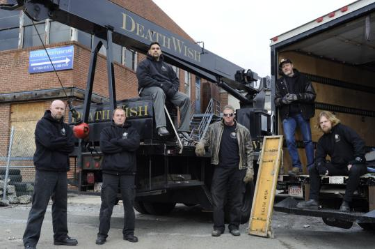 "Deathwish Piano Movers, a Malden-based company, gets its own TV show, ""Deathwish Movers,'' on the Travel Channel."