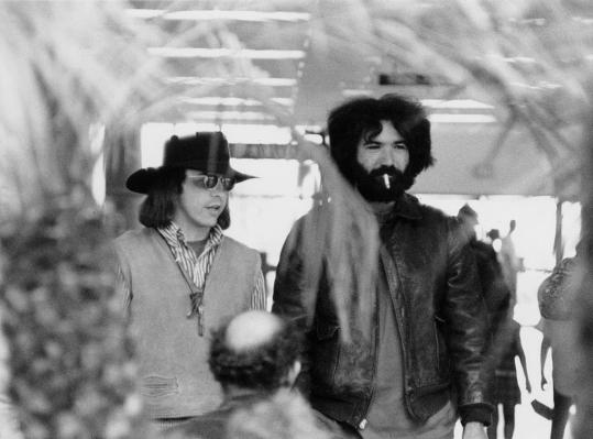 Owsley Stanley (left), a sound engineer for the Grateful Dead, with band member Jerry Garcia.