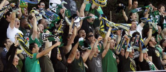 Fans of the Portland Timbers should fit right in among a region that's big on pro soccer.