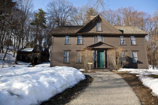 Louisa May Alcott wrote 'Little Women' at the Orchard House in Concord in 1868.