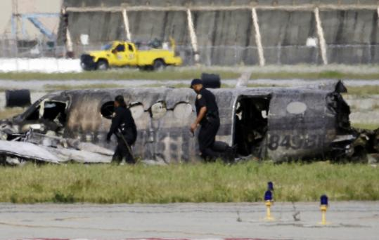 The twin-engine Beechcraft King Air crashed and burned shortly after takeoff yesterday from Long Beach Airport.