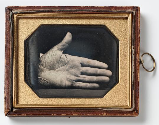 """The Branded Hand'' (by Southworth & Hawes) depicts punishment for trying to help slaves escape."