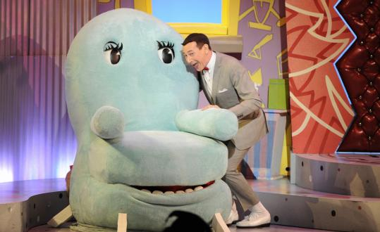 Paul Reubens revisits his childlike 1980s character, Pee-wee Herman, in a Broadway show recorded for HBO.