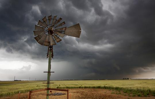 "The film follows follows a team of scientists in the Midwest's seven-state ""tornado alley.''"