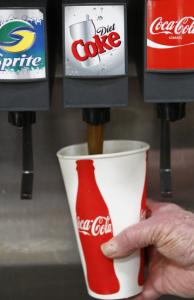 Coca-Cola Co. sells the two top soft drinks in the country.