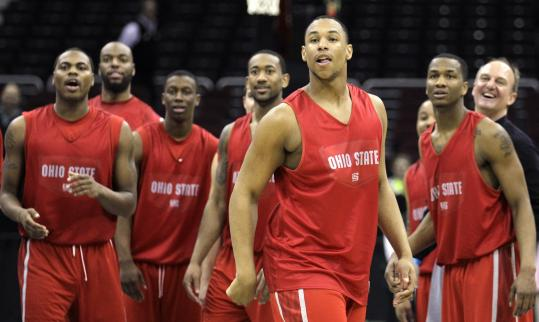 Leading the way for top-seeded Ohio State is 6-9 freshman forward Jared Sullinger (foreground), the kind of weapon few coaches can put on the floor.