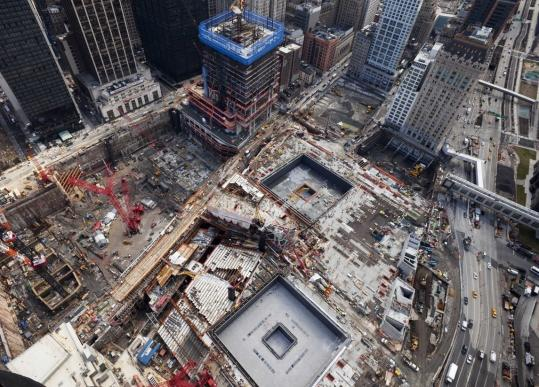 Years of work will remain when the 9/11 memorial opens in September.