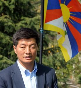 Lobsang Sangay is the favorite to win election as prime minister.