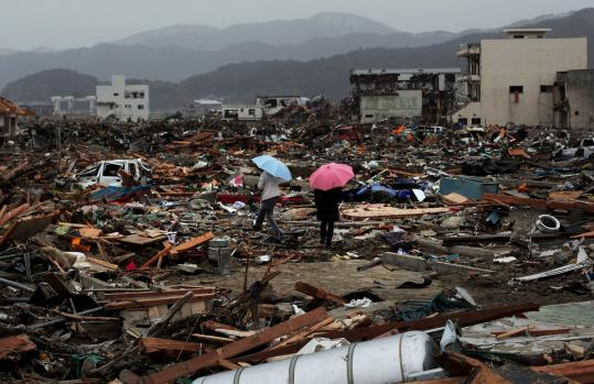 In Rikuzentakata, 775 people are listed as dead and 1,700 as missing. But the destruction suggests a higher death toll.