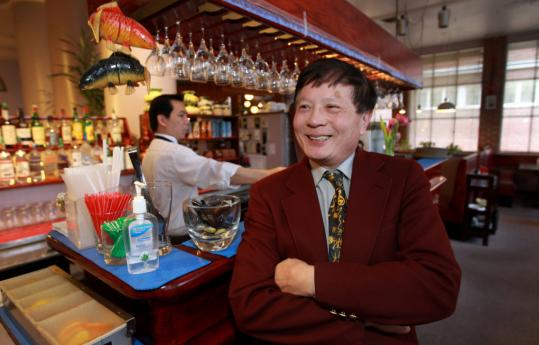 "Robin Ong said he has seen an influx of Asian customers at his Lexington restaurant, many of whom work in biotech firms. ""The ratio of Asians to Americans has increased,'' he said."
