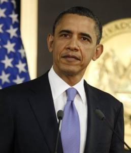 Obama said he believes the public supports the mission.