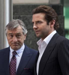 """Robert De Niro and Bradley Cooper in """"Limitless.''"""