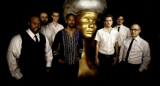 """""""We just wanted to make more meaningful songs,'' says Black Joe Lewis (center)."""