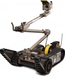 Bedford company iRobot says its machines may ease rescues.