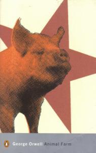 "Garber analyzes the language of Orwell's ""Animal Farm."""