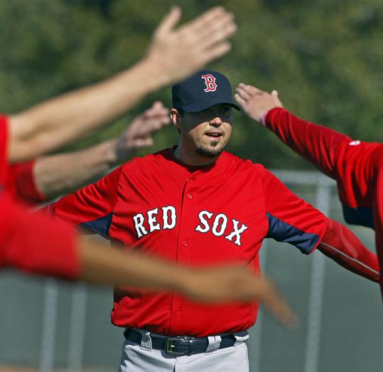 Poor numbers this spring (0-4, 6.64) are nothing for Josh Beckett to get up in arms about.