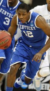 Once again, freshman Brandon Knight pushed Kentucky into the next round.