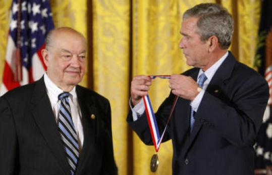 President Bush presented Paul Baran with a National Medal of Technology and Innovation.
