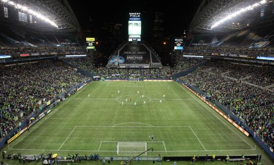 Plans for a new stadium for the Revolution would likely be based on the siting of Qwest Field in Seattle, where the Sounders have sold 32,000 season tickets.