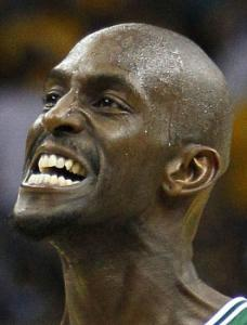 KEVIN GARNETT Working it out