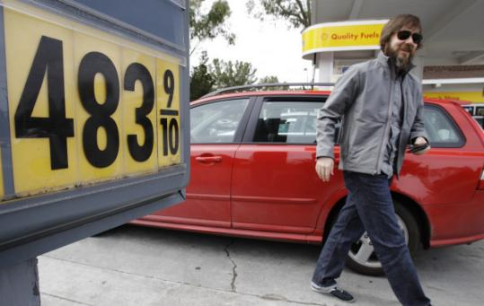 With high gas prices, as at this California station, drivers may be tempted to stretch the time between fill-ups. Not a good idea, mechanics say.