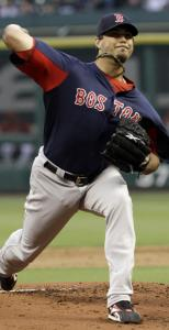 After a few rocky outings, Josh Beckett was in command last night in Houston, giving up one hit in five innings.
