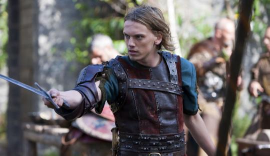 "Jamie Campbell Bower plays a young Arthur in ""Camelot.''"