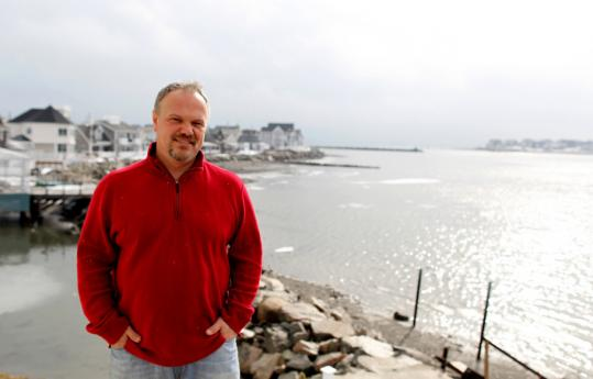 Bill Hoover says the risks of living on the ocean are balanced by the beauty.