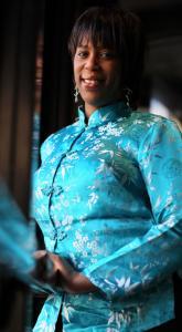 Jonathan Wiggs/Globe Staff Singer Ashanti Munir, who grew up in Roxbury, cites Whitney Houston, Gladys Knight, and Regina Belle as influences.